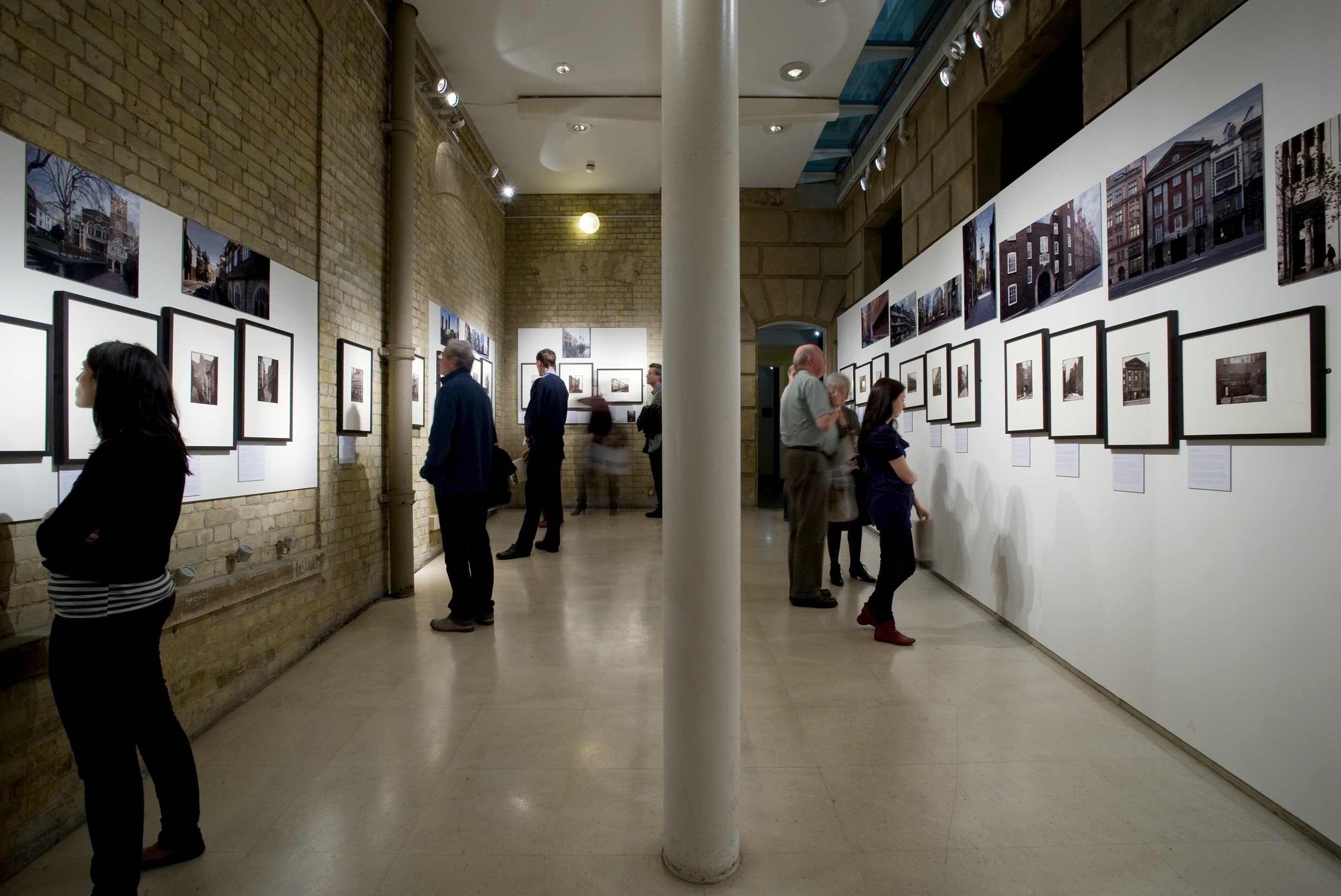 'Relics of Old London: Photography and the spirit of the city' was exhibited in the former Architecture Space at the Royal Academy in 2010.  Credit: Francis Ware / Royal Academy of Arts
