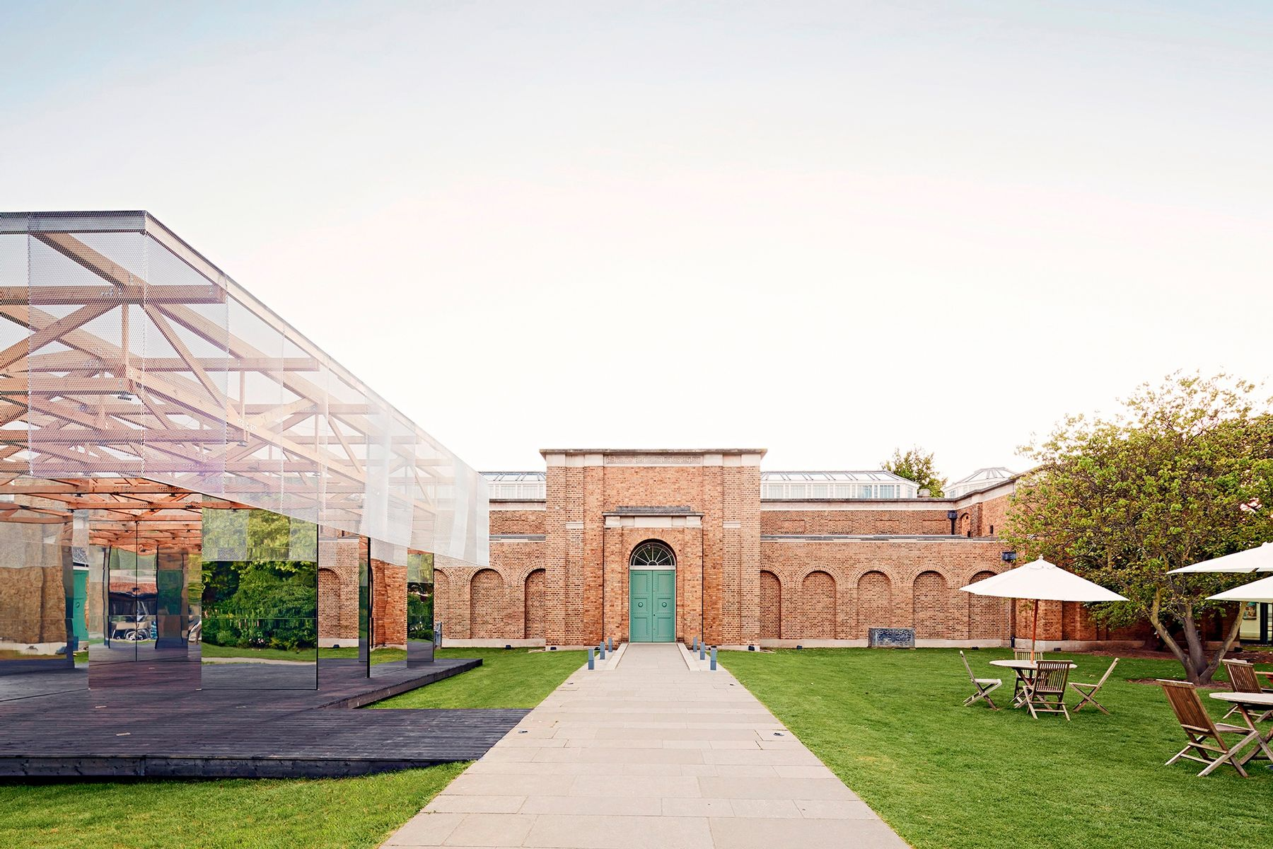IF_DO's Dulwich Pavilion for the LFA in 2017. Credit: Joakim Borén.