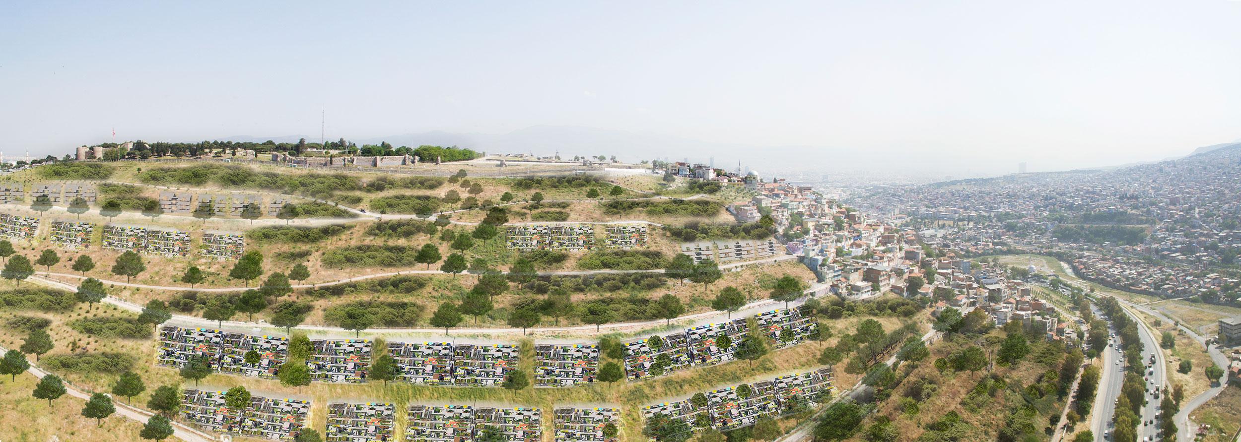 The growing neighbourhood of Kadifekale
