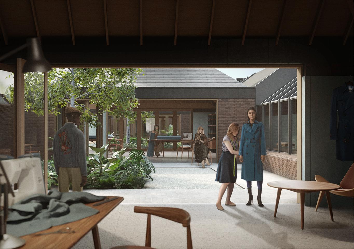 Design studios – Bromley Hall School