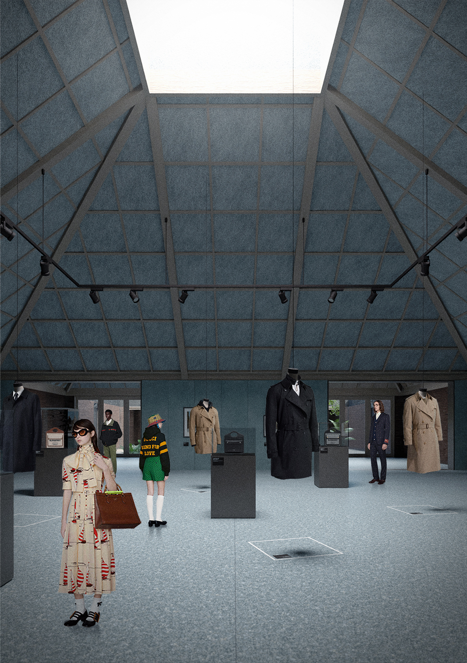 Exhibition space – Bromley Hall School