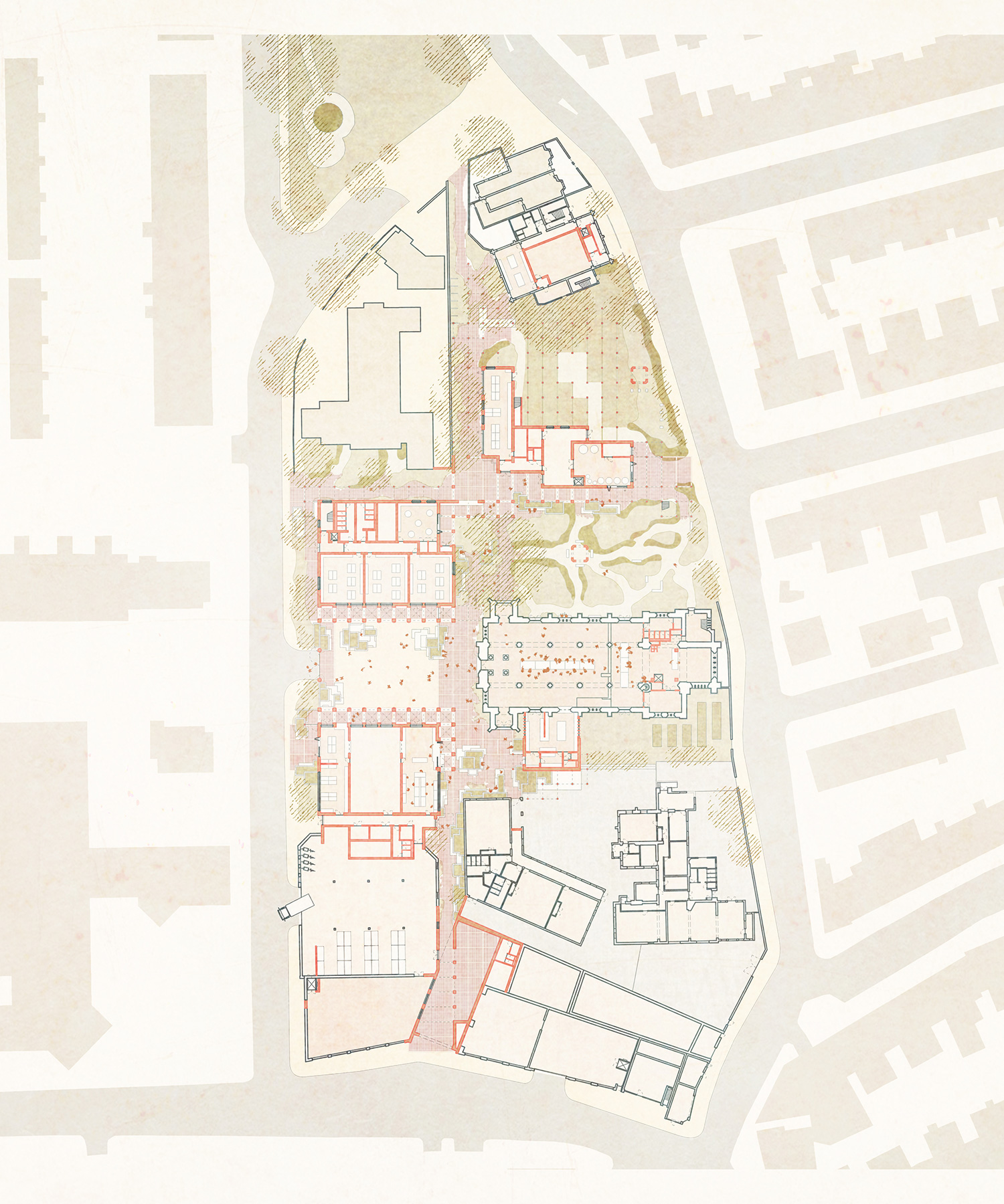 Ground floor masterplan – congregation