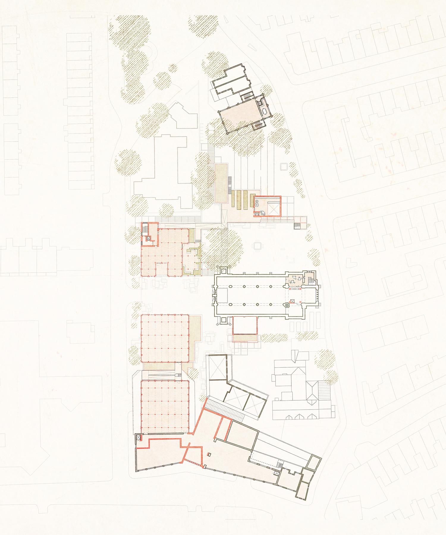 1st floor masterplan – cultivation