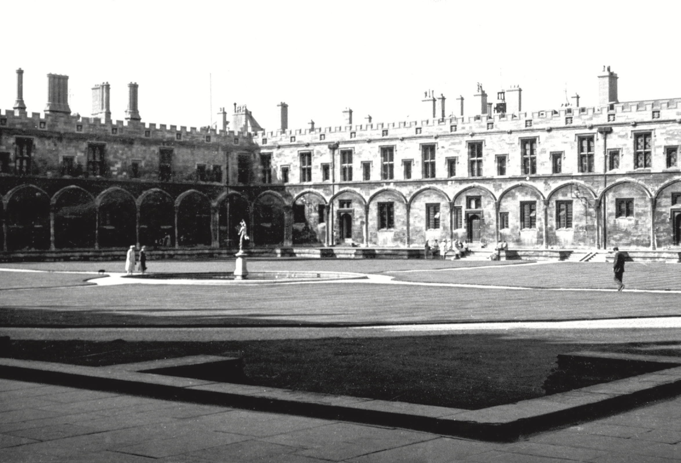 The Great Quadrangle of Christ Church at the University of Oxford