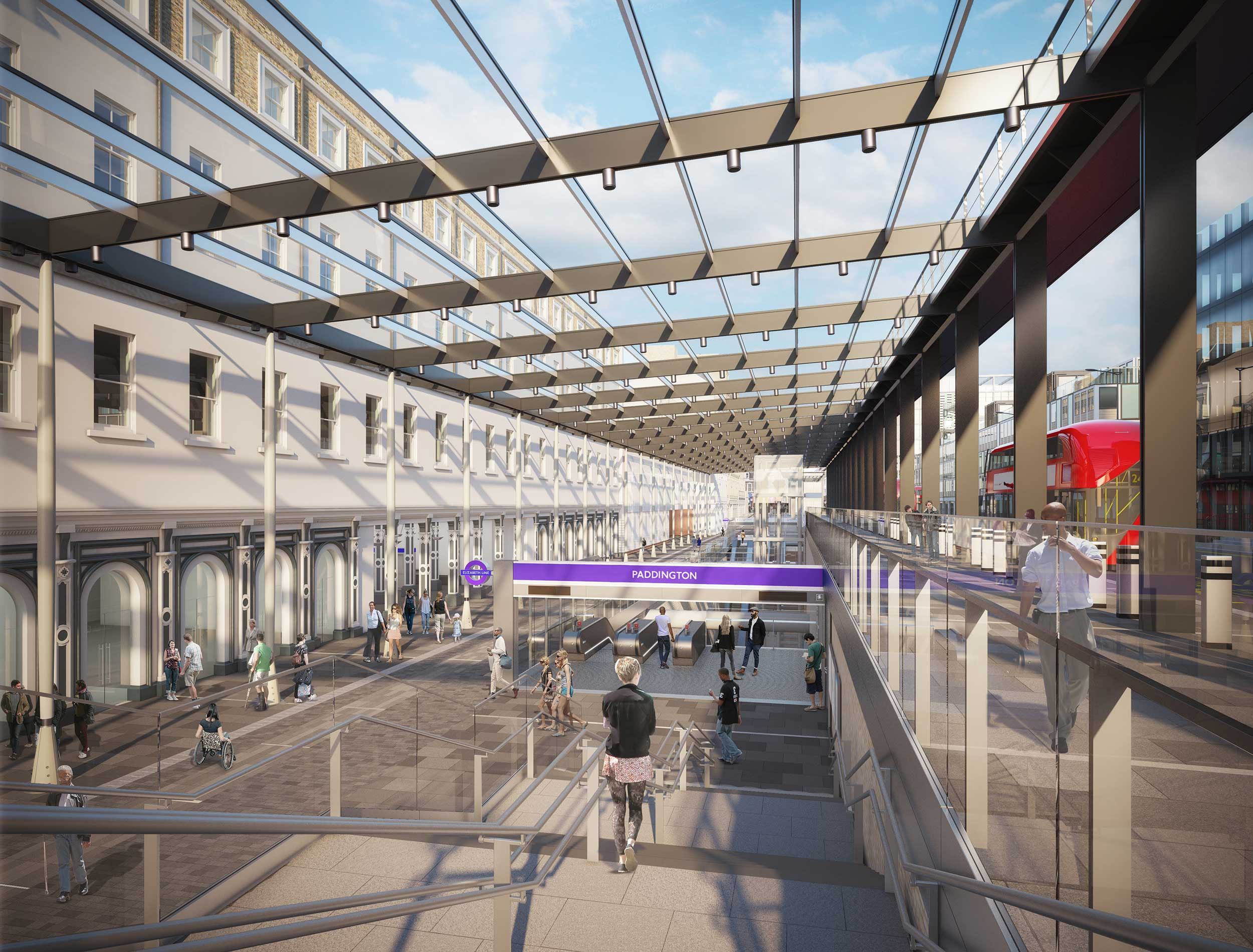The UK government's invesment in infrastructure projects such as Crossrail are attracting development opportunities along the route. At Paddington, plans from Sellar Property Group, (the developers behind the Shard) have been brought forward due to better connectivity.