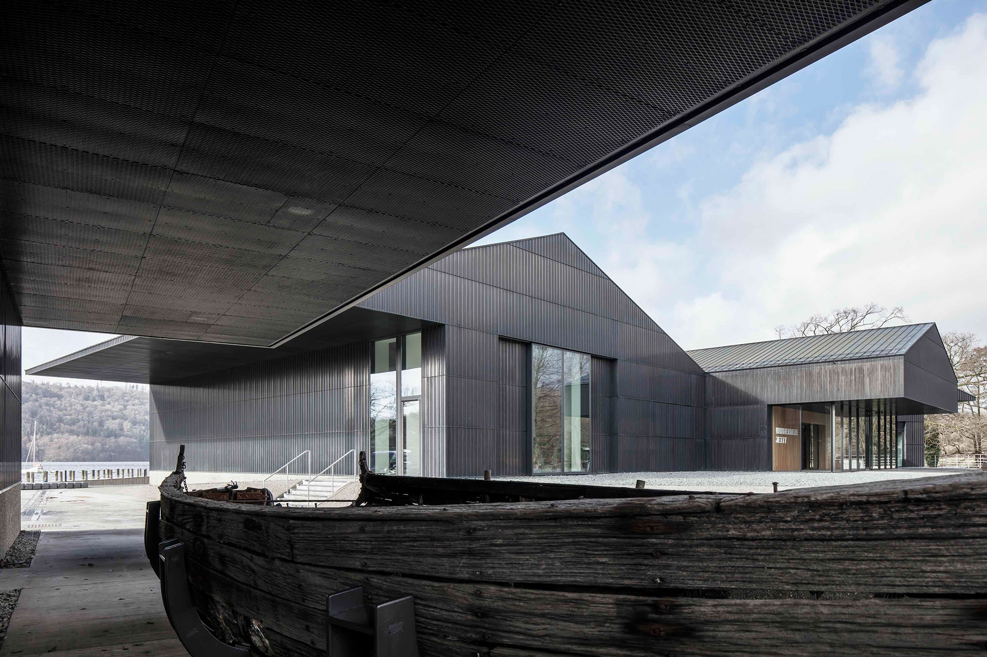 Kingspan Kooltherm products are available for a wide range of applications, achieving thermal conductivities as low as 0.018 W/ mK making them ideal for projects such as the Windermere Jetty Museum by Carmody Groarke. Photograph by Christian Richter