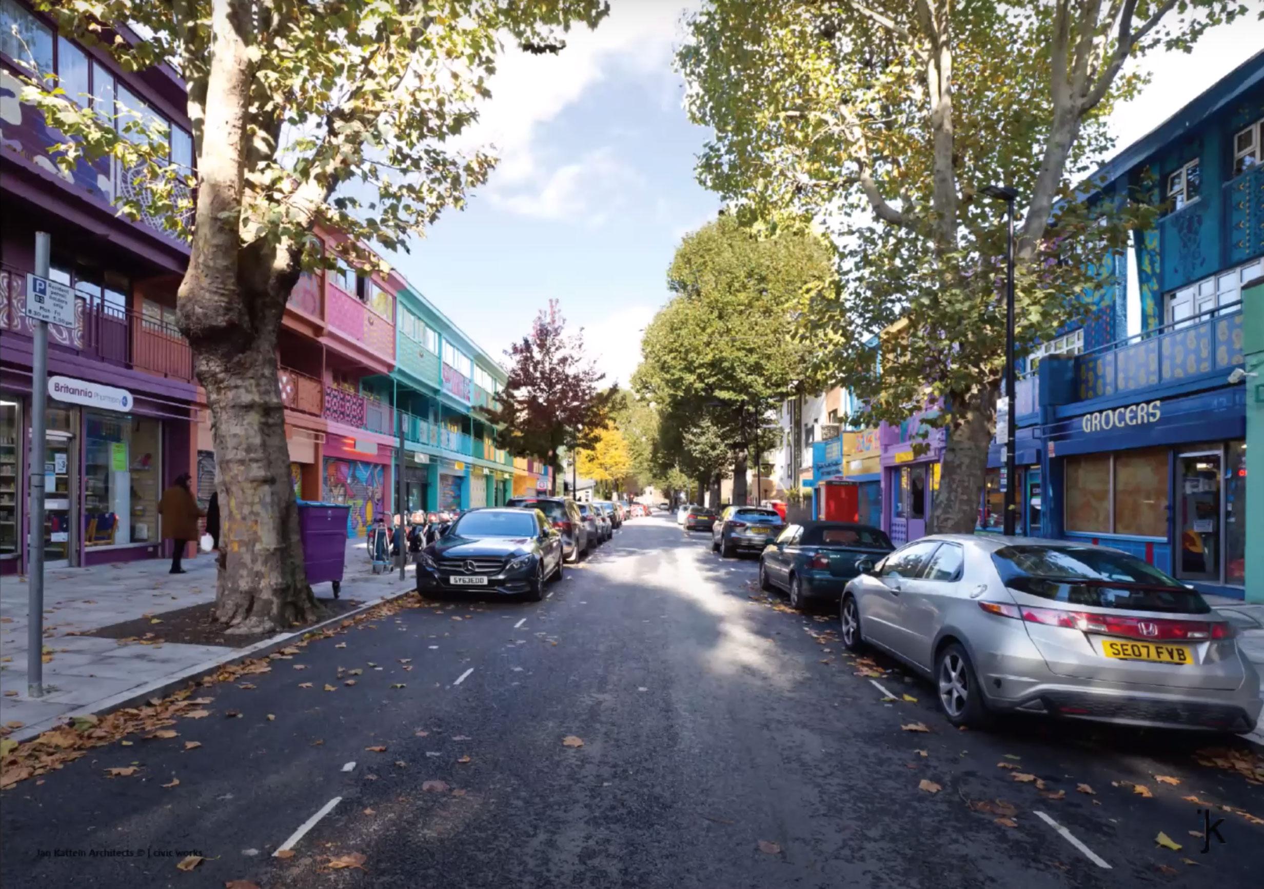 Aberfeldy Street